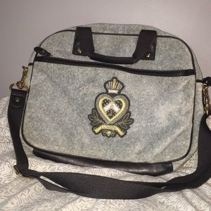 Gray Juicy Couture Bag